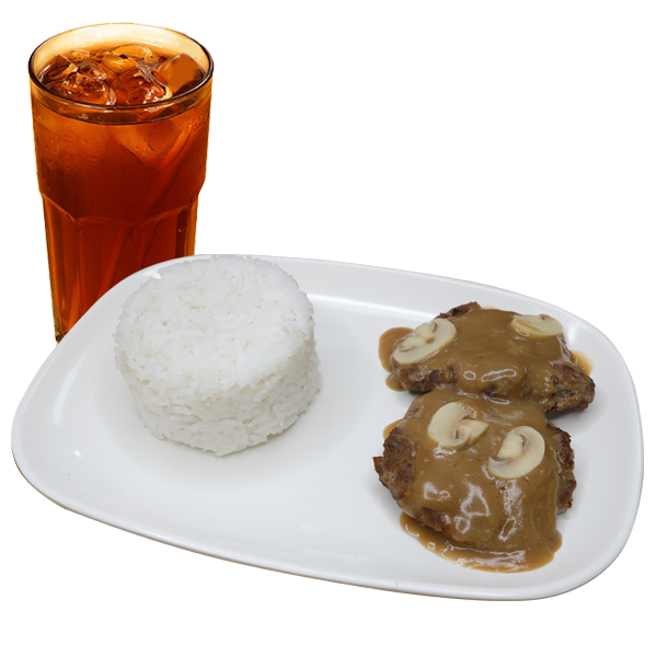 Burger Steak Meal